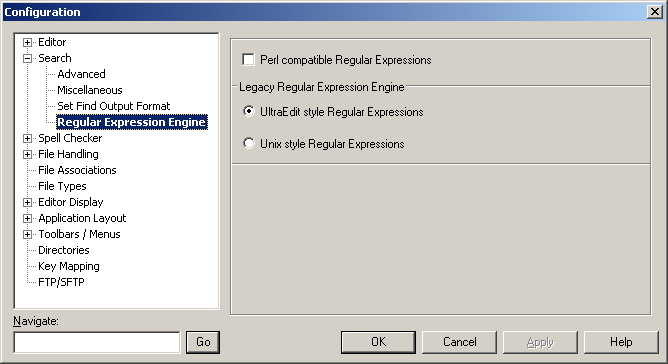 ultraedit regular expression